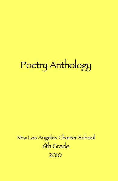 Poetry Anthology Book Cover : Poetry anthology by new los angeles charter school th