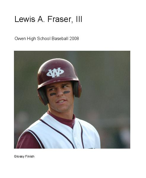 Click to preview Lewis A. Fraser, III photo book