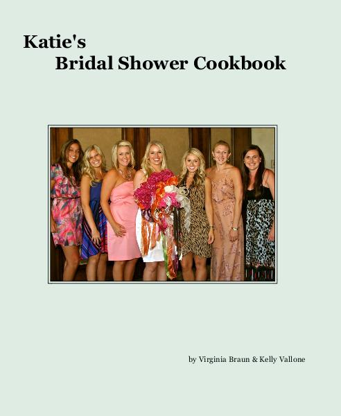 Click to preview Katie's Bridal Shower Cookbook photo book