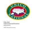 John Alati UNICO National President 2002-2003 - Nonprofits & Fundraising photo book