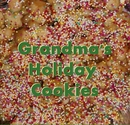 Grandma's Holiday Cookies - Cooking photo book