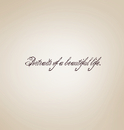 Portraits of a Beautiful Life. - Fine Art Photography photo book