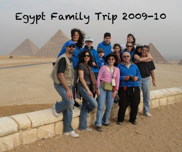 Click to preview Egypt Family Trip 2009-10 photo book