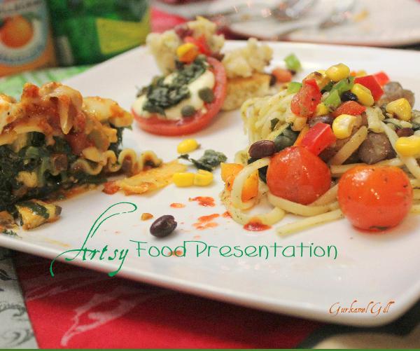 food presentation books