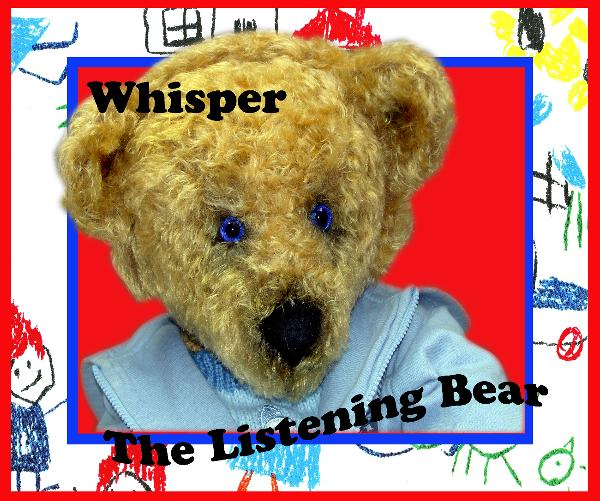 View Whisper The Listening Bear™ by Angela Burman