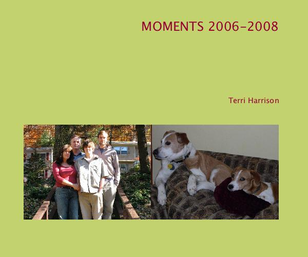 Click to zoom MOMENTS 2006-2008 photo book cover