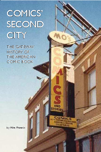 Click to preview Comics' Second City pocket and trade book
