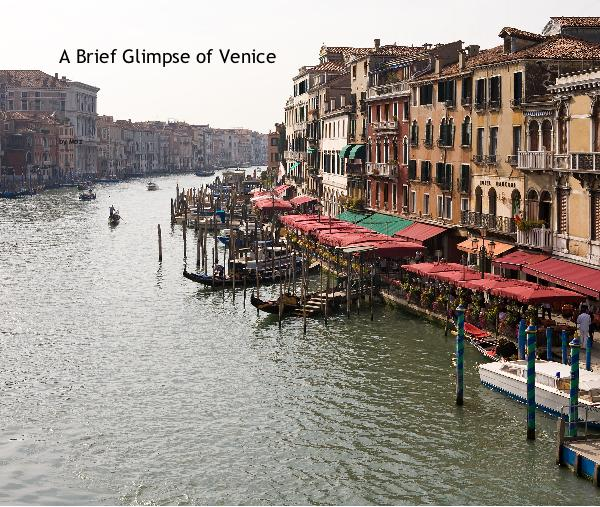 Click to preview A Brief Glimpse of Venice photo book