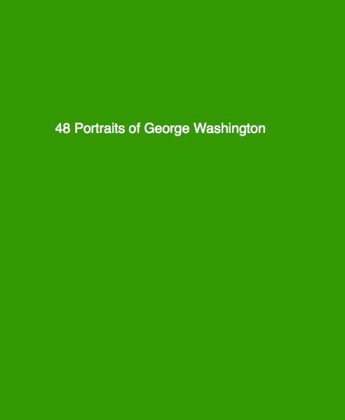 Click to preview 48 Portraits of George Washington photo book