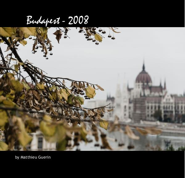 Click to preview Walking in: Budapest photo book