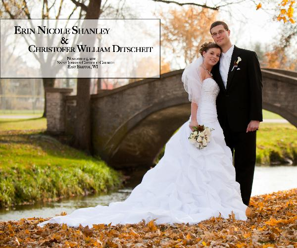 Click to preview Erin and Chris Ditsheit Wedding photo book