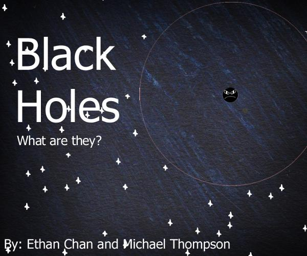 black holes  a children u0026 39 s book by ethan chan and michael