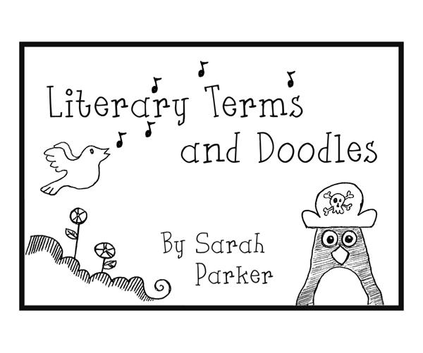 View Literary Terms and Doodles by Sarah Parker