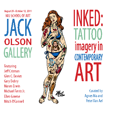 Ver Inked: Tattoo Imagery in Contemporary Art por Jack Olson Gallery
