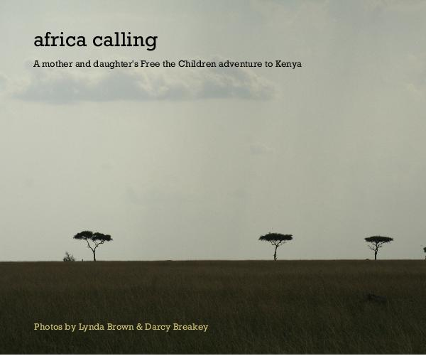 Click to preview africa calling photo book