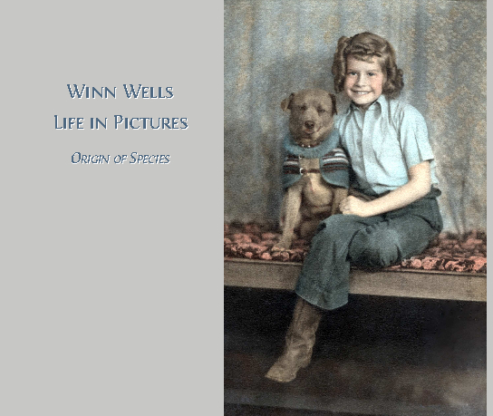 Click to zoom Winn Wells - Life in Pictures photo book cover