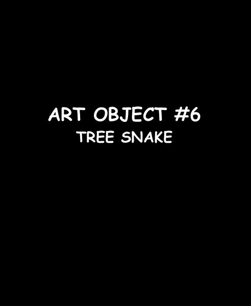 Click to preview ART OBJECT #6 TREE SNAKE photo book