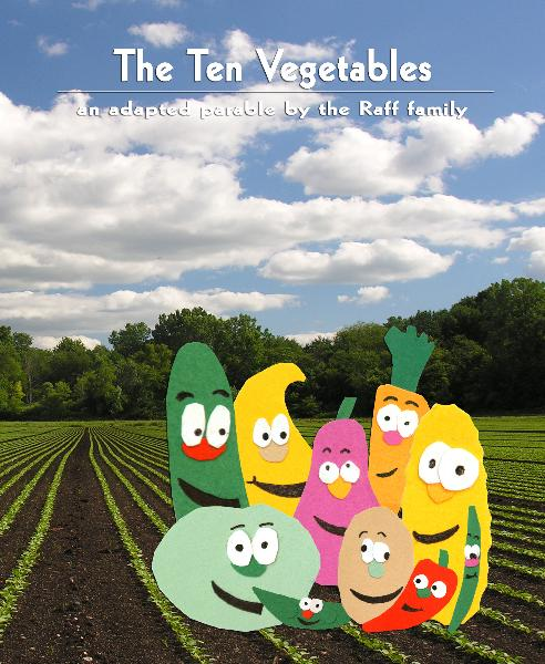 Click to preview The Ten Vegetables photo book