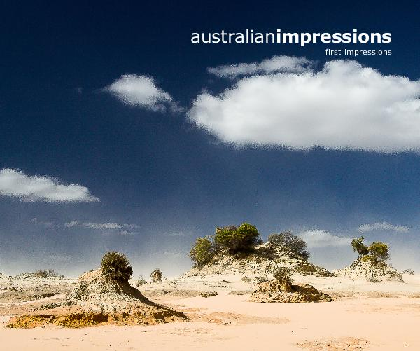 View australianimpressions first impressions by Sandra and Laszlo Peter