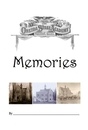Memories (B&W) - History pocket and trade book