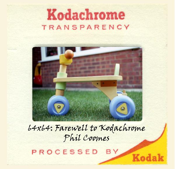 64x64: Farewell to Kodachrome