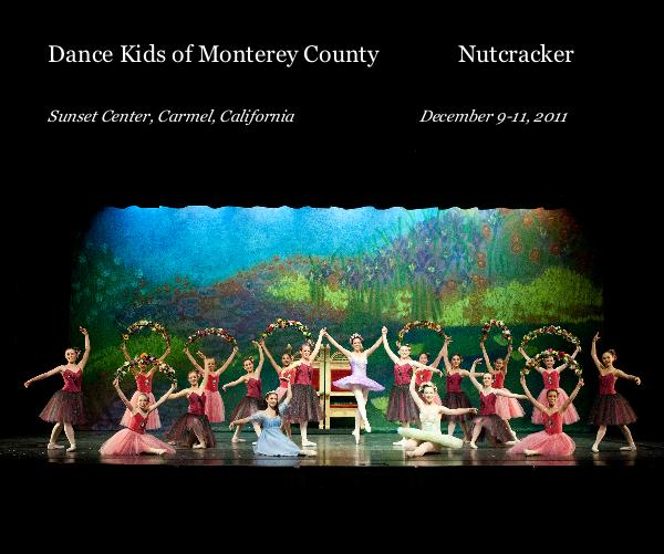 Click to preview Dance Kids of Monterey County Nutcracker photo book