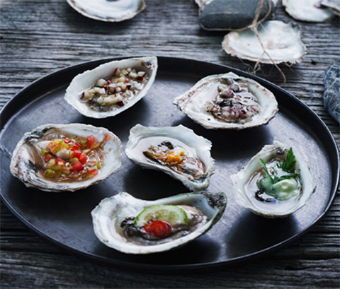 Food photography: Oysters