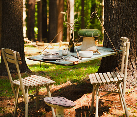 Food photography: A picnic outside