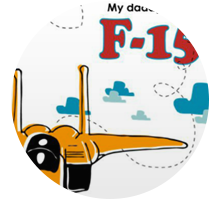 Children's books - My daddy flies an F-15