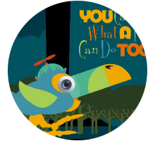 Children's books - You can do what a toucan do