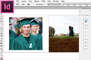 Graduation Photo Books Tools InDesign