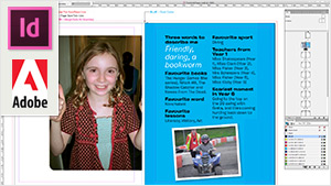 Yearbook photo book InDesign